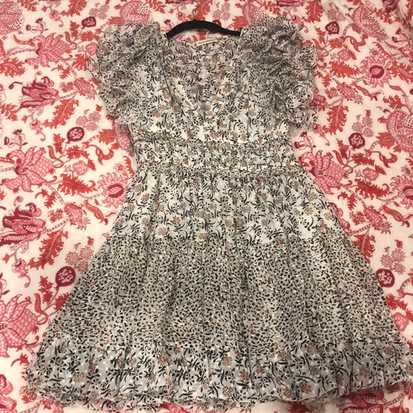 Ulla Johnson Dresses & Skirts - Ulla Johnson Floral Mini Dress- never worn